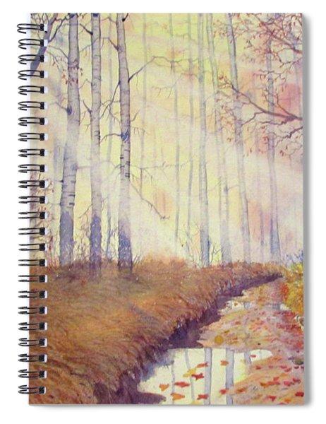 Autumn Memories Spiral Notebook