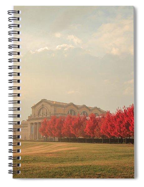 Autumn On Art Hill Spiral Notebook