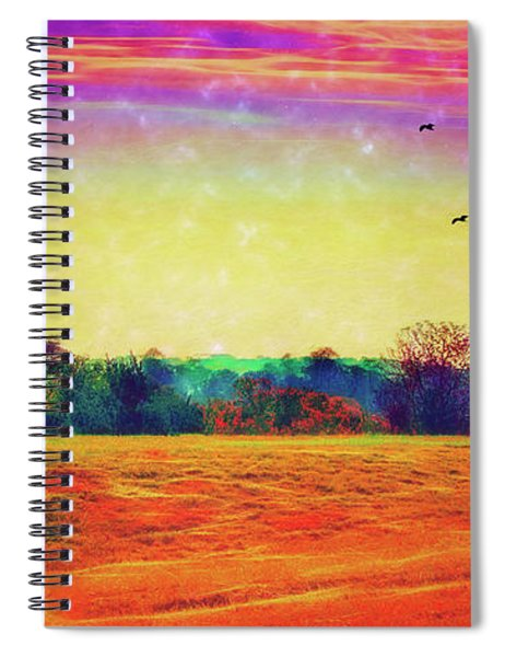 Autumn On Earth Two Spiral Notebook