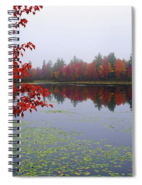 Autumn On The Bellamy Spiral Notebook
