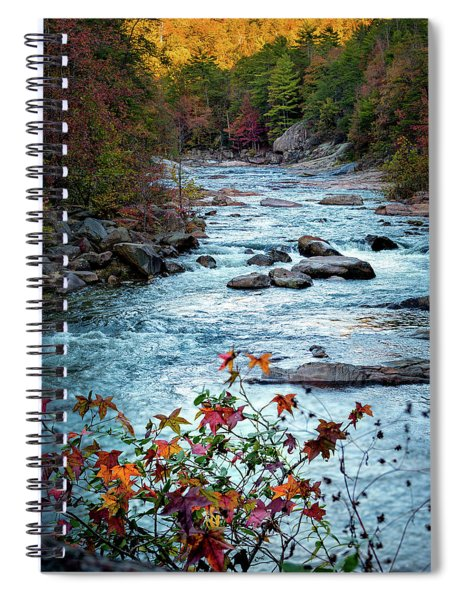 Autumn On Wilson Creek Spiral Notebook