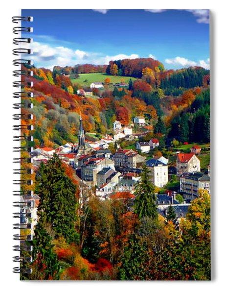 Autumn Panorama Spiral Notebook