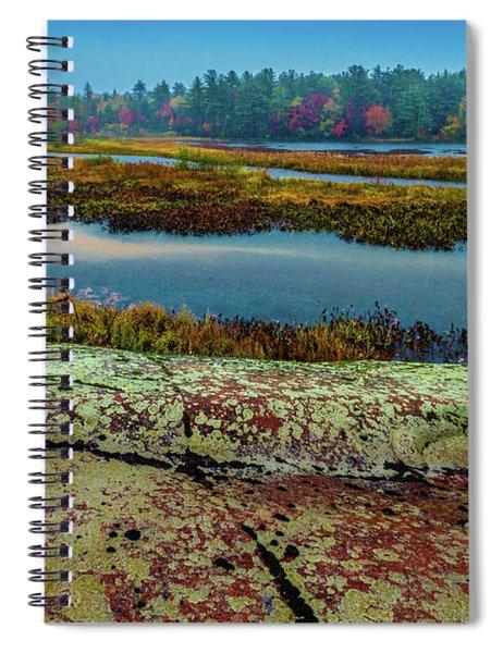 Autumn Rain 2 Spiral Notebook