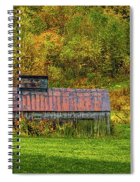 Autumn Rain 3 Spiral Notebook