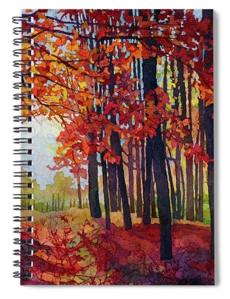 Autumn Rapture Spiral Notebook