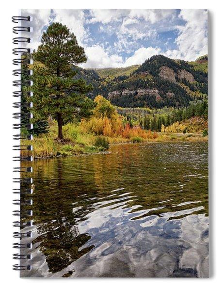 Autumn Reflected Spiral Notebook
