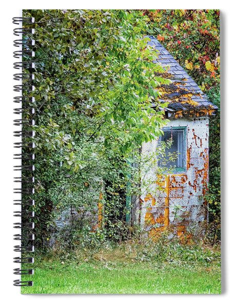 Autumn Shack Spiral Notebook