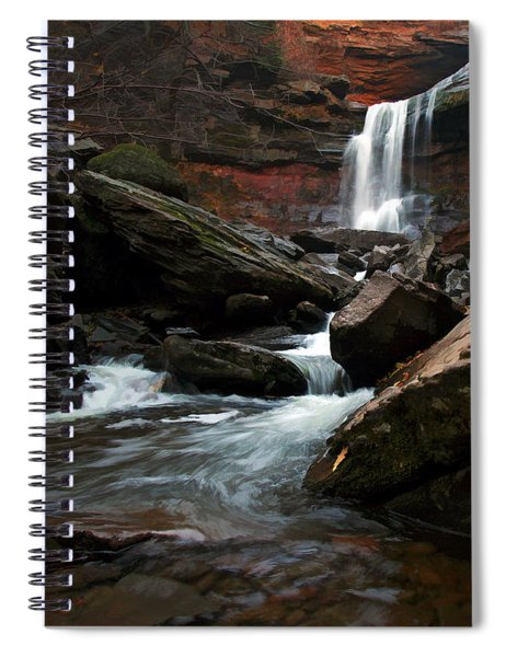 Autumn Spring Spiral Notebook