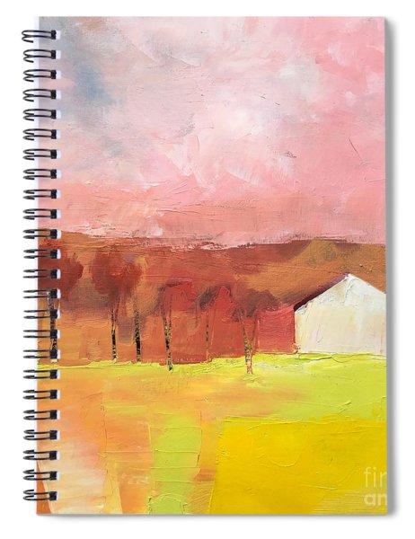 Autumn Stillness Spiral Notebook
