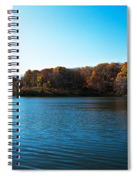 Spiral Notebook featuring the photograph Autumn The In Loess Hills by Edward Peterson
