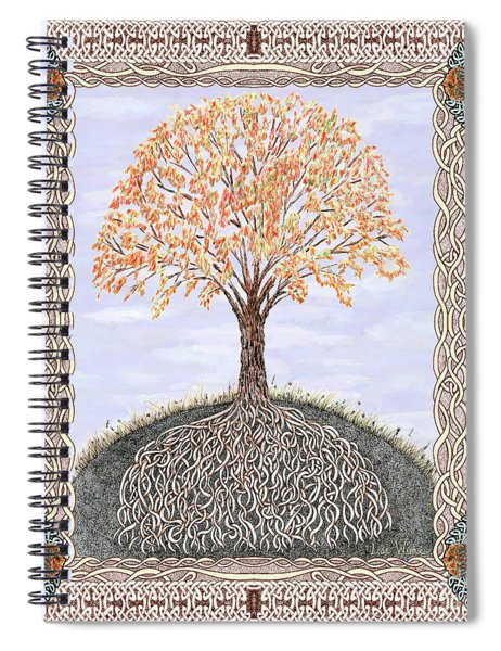 Autumn Tree Of Life Spiral Notebook