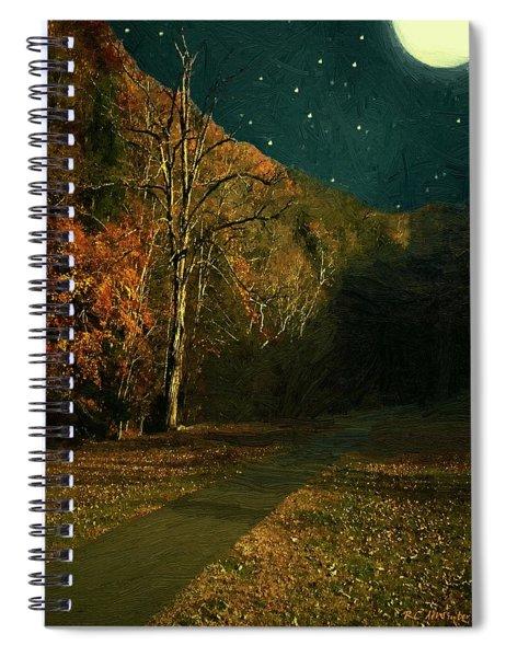 Autumn Tunnel Spiral Notebook