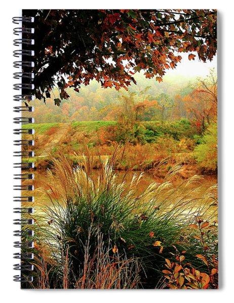 Autumn Views Spiral Notebook