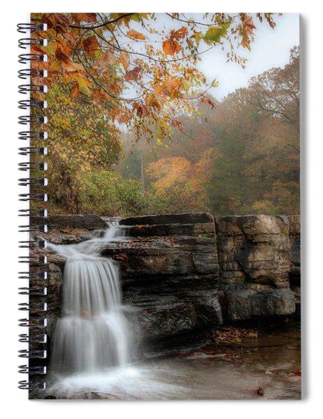 Autumn Water Spiral Notebook