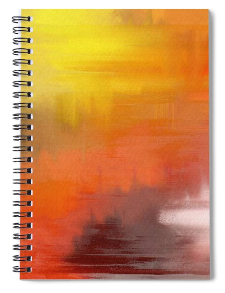 Autumnal Abstract  Spiral Notebook