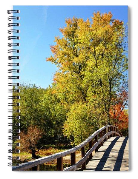 Autumnal North Bridge Spiral Notebook