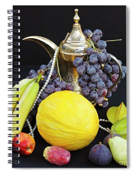 Symphony Of Forbidden Fruits Spiral Notebook