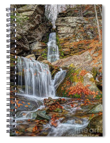 Autumns End Spiral Notebook