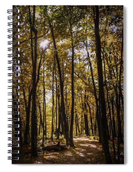 Autumns Fire Spiral Notebook