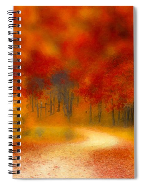 Autumn's Promise Spiral Notebook