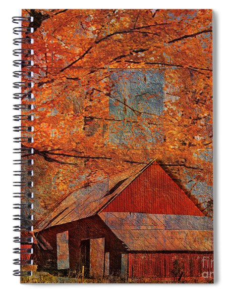 Autumn's Slate 2015 Spiral Notebook