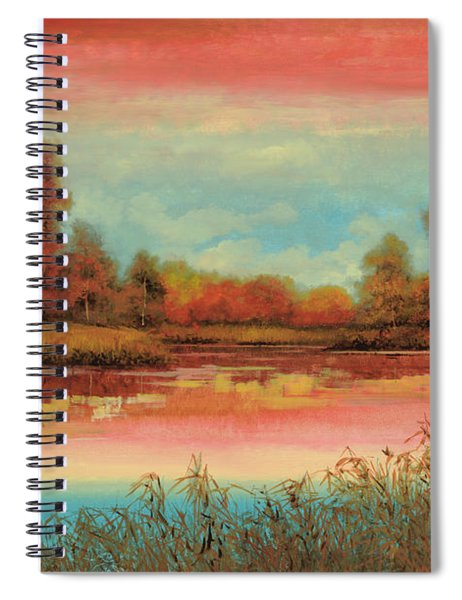 Autunno Sul Lago Spiral Notebook