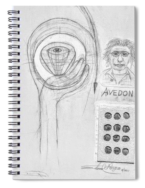 Avedon Master Of The Lens Spiral Notebook