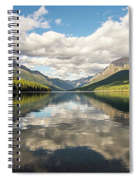 Avenue To The Mountains Spiral Notebook