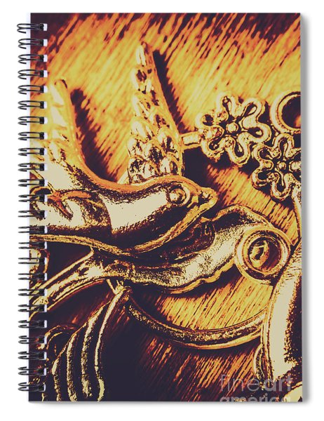 Avian Decor Spiral Notebook
