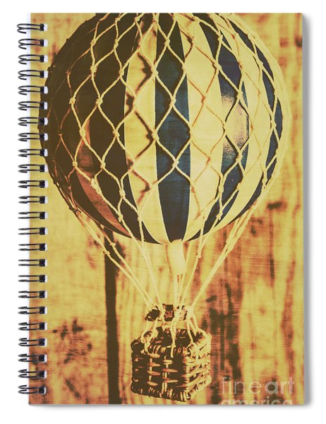 Aviation Nostalgia Spiral Notebook