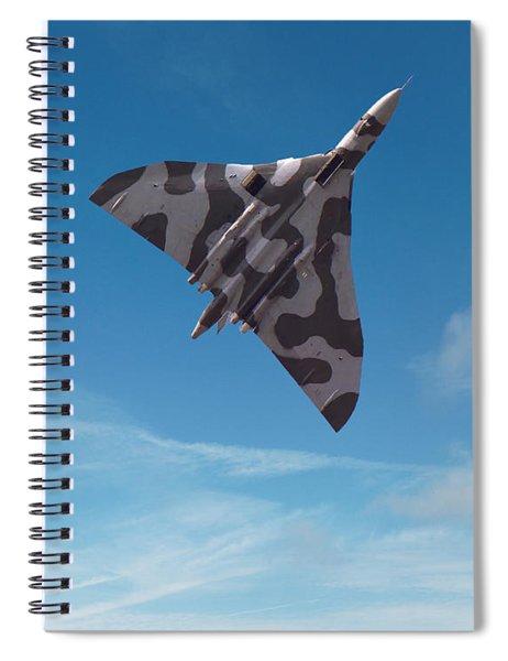 Avro Vulcan -1 Spiral Notebook by Paul Gulliver