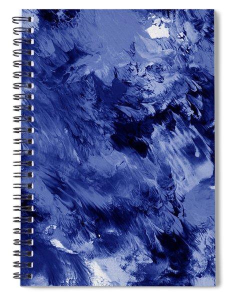 Awakened Sky- Abstract Art By Linda Woods Spiral Notebook