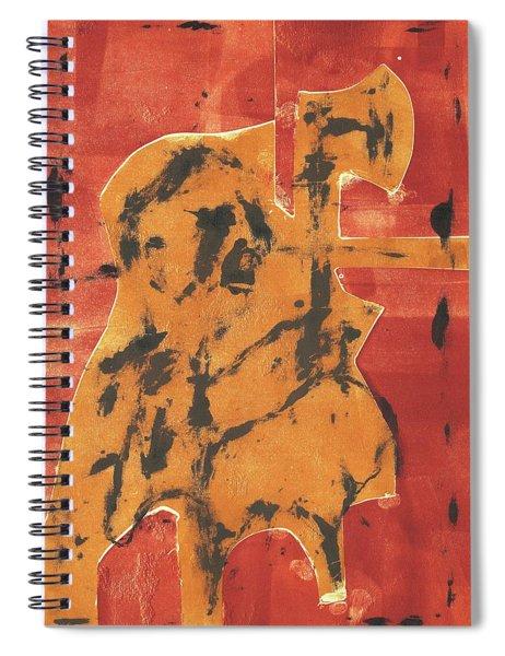 Axeman 6 Spiral Notebook