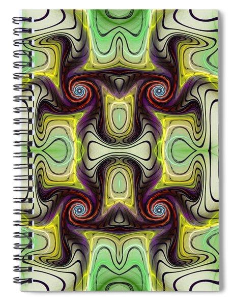 Aztec Art Design Spiral Notebook