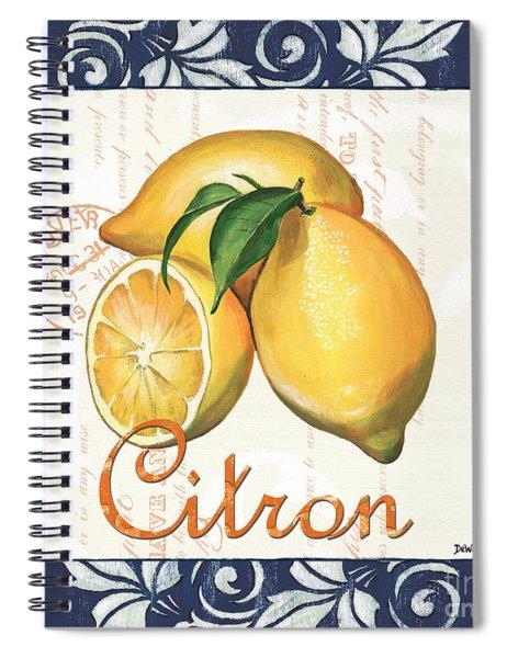 Azure Lemon 2 Spiral Notebook