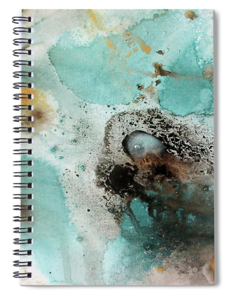 Azure Waters By V.kelly Spiral Notebook