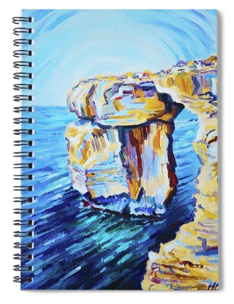 Azure Window Spiral Notebook
