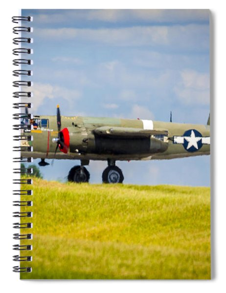 B-25 Landing Original Spiral Notebook