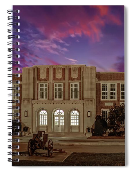 B C H S At Dusk Spiral Notebook