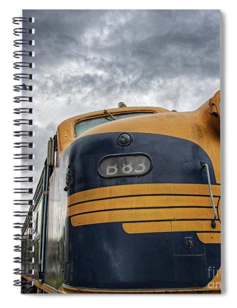 B83 Spiral Notebook