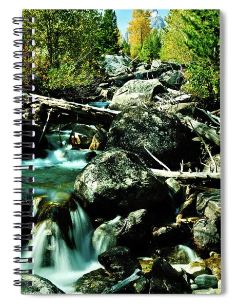 Babbling Brook Spiral Notebook