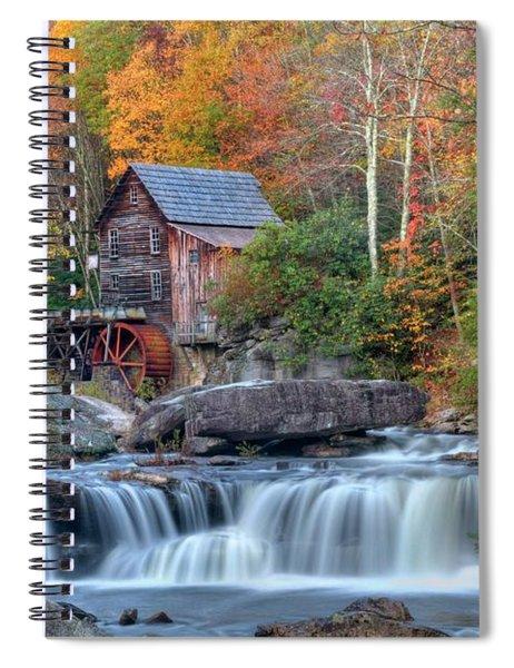 Babcock Grist Mill  II Spiral Notebook