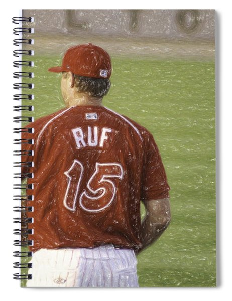 Babe Ruf Spiral Notebook