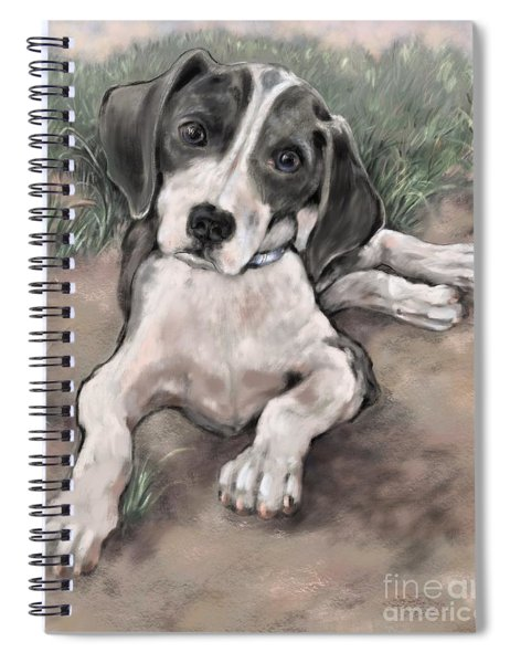 Baby Dane IIi Spiral Notebook