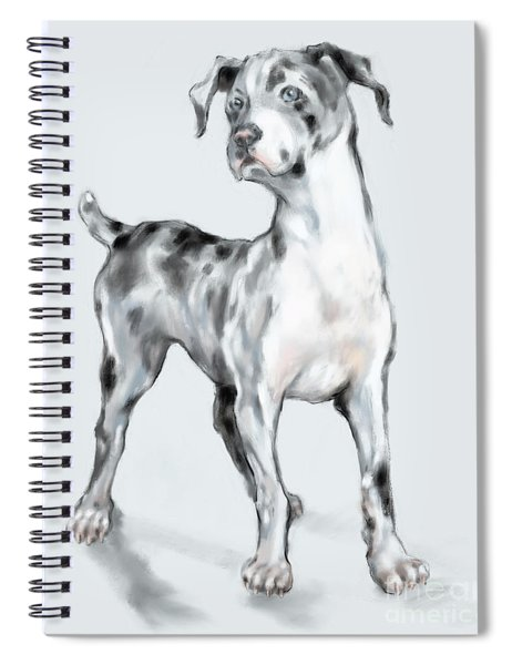 Baby Dane Spiral Notebook