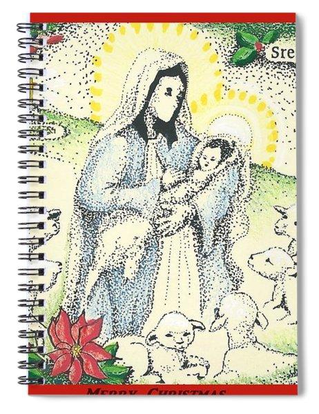 Baby Jesus In Medjugorje Spiral Notebook