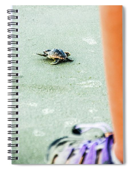 Baby Loggerhead Spiral Notebook