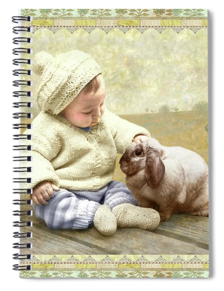 Baby Pats Bunny Spiral Notebook