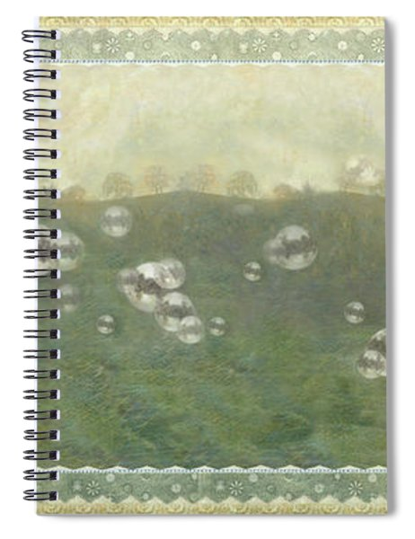 Baby Pops Bubbles Spiral Notebook