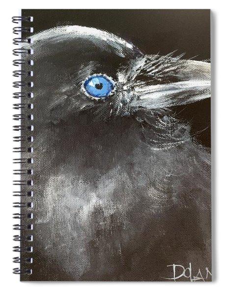 Baby Raven Spiral Notebook